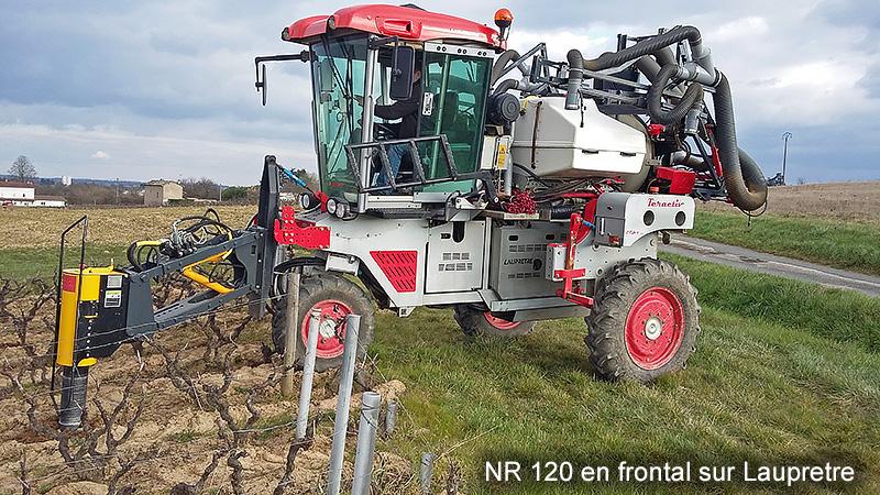 NR120 en frontal sur Lauprete
