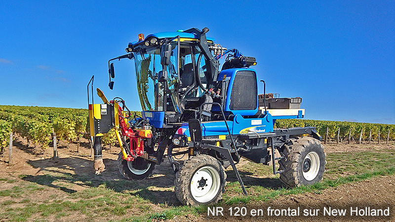 NR120 en frontal sur New Holland