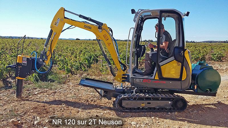 NR120 sur 2T Neuson