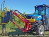 NR 120 en frontal sur tracteur interligne New Holland