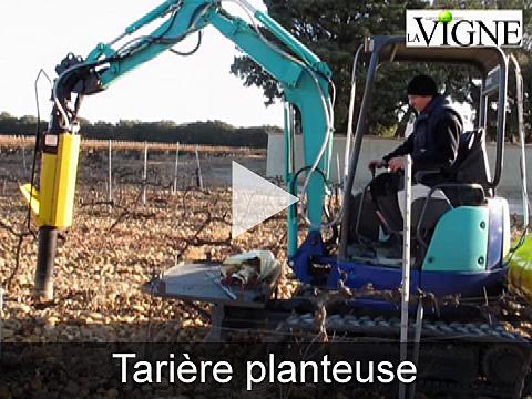 Vidéo de la tarière planteuse