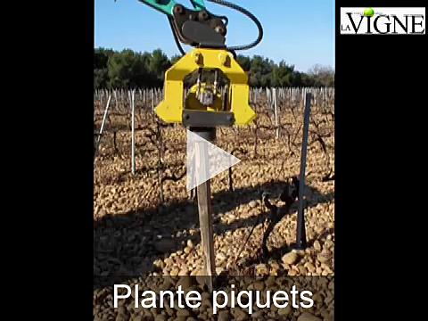 Vidéo du plante piquets