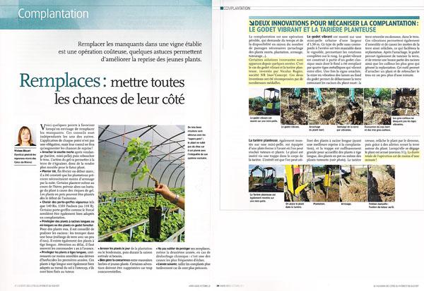 Magasine Le Vigneron - Hors Série d'octobre 2011