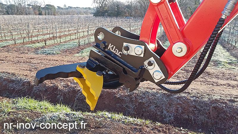 Pinces hydrauliques Arrache Piquets PH2