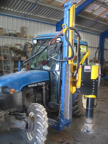 Complanteuse NR-120 sur tracteur - NR-inov-concept